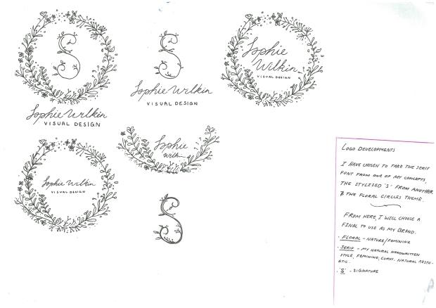 logo development page